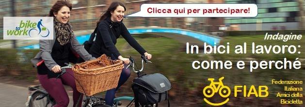 Sondaggio FIAB bici+lavoro
