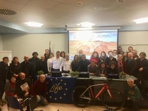 Un anno di LIFE Sic2Sic: oltre 2mila km pedalati e 5mila persone coinvolte