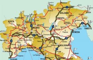 La situazione della rete cicloturistica italiana (1° parte - Nord Italia)