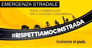 #Rispettiamocinstrada. Tutto quello che c'è da sapere sull'appuntamento del 23 febbraio a Roma
