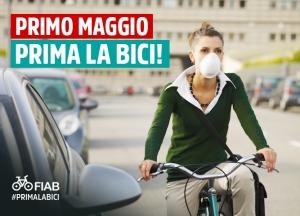 #PRIMALABICI: la nuova campagna FIAB per la Fase 2