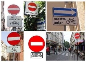 """FIAB deplora la cancellazione del """"senso unico eccetto bici"""""""