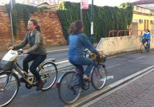 Gli infortuni in itinere in bicicletta