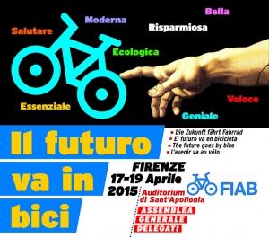 L'assemblea Generale FIAB a Firenze. 17 - 19 aprile 2015