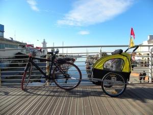 La bicicletta va