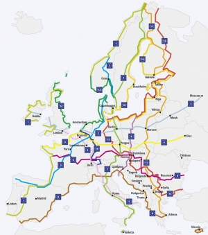 Fiab scrive agli Europarlamentari italiani: Eurovelo nella Rete TEN-T