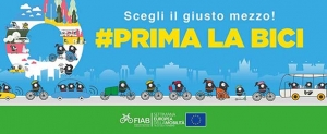 Settimana Europea della Mobilità: #PrimaLaBici. Tutte le iniziative FIAB