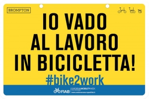Fiab e Brompton, l'alleanza per la Settimana Europea della Mobilità