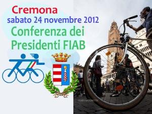 Conferenza dei Presidenti FIAB 2012 - La crescita efficace.