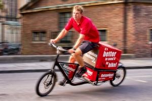 Logistica urbana a emissioni zero con le cargo bike